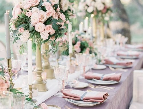 Pastel, floral garden inspired editorial at a gorgeous French inspired venue in San Diego