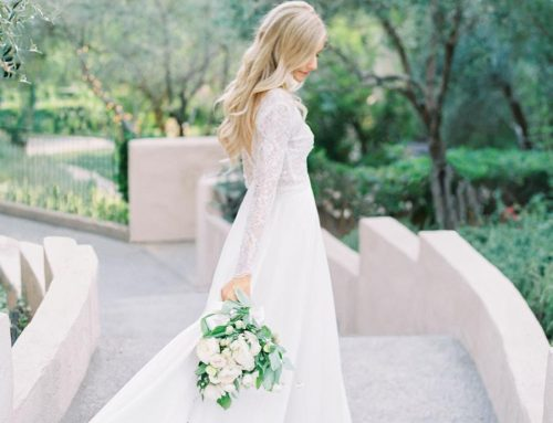 Fashion Industry Experts Tie the Knot at Rancho Bernardo Inn